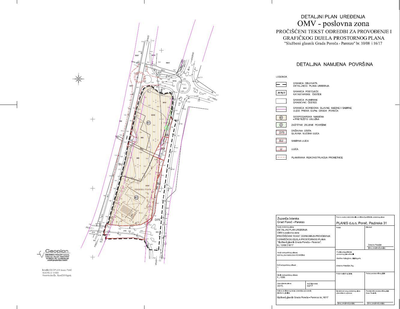 Grad Porec Dpu Omv Poslovna Zona Dpu 10