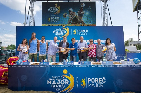 Najavljen turnir Swatch Beach Volleyball Major Series - Poreč Major od 28. lipnja do 3. srpnja