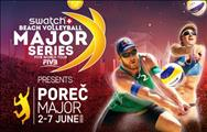 Swatch Beach Volleyball Major Series Pore� 2. - 7. lipanj 2015.